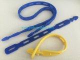 o silicone de 1100mm/800mm/450mm amarra para baixo a cinta