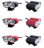 Светильник света Bike фары велосипеда T6 СИД водоустойчивый задействуя детали Colorsproduct переднего света & колцеобразного уплотнения 5 велосипеда Bike USB: