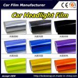 Цвет автомобиля пленки автомобиля светлый изменяя оборачивающ пленку подкраской фары