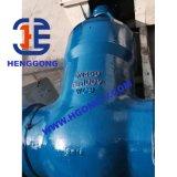 Запорная заслонка литой стали ANSI электрической сваренная электростанцией