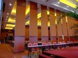De geluiddichte Beweegbare Muren van Verdelingen voor Hotel, het Centrum van de Tentoonstelling en de Zaal van de Vergadering