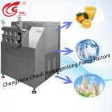 5000L/H, homogenizador do aço inoxidável para fazer o líquido