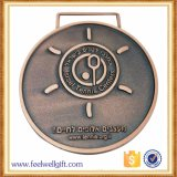 Le modèle en gros de propriétaire folâtre la médaille en métal