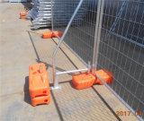 Rete fissa portatile galvanizzata ampiamente usata del luogo di Construcrion