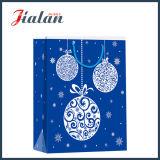 Personnaliser le sac de papier de cadeau d'emballage de Noël de «Feliz Navidad» de papier enduit