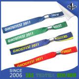 Il Wristband su ordinazione di festival con il marchio ha stampato