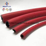 Tuyaux d'air à haute pression tressés de fibre noire de couleur