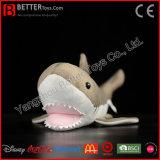 Kiefer-angefülltes Tier-weiches Spielzeug-großer weißer Haifisch-Plüsch-Spielzeug-Haifisch