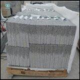 Слябы оптового света - серые и белые гранита G603 отполировали/гранит хонингованный/Bushhammered для плитки настила/слябов/верхних частей гранита
