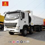 HOWO A7 12 Ruedas camiones de volteo 8X4 Camión Volquete