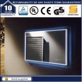 Espelho iluminado do diodo emissor de luz banheiro decorativo Baclkit