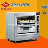 パン屋装置、Honglingの工場は2デッキ4の皿のガスオーブンを供給する