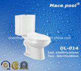 결박 (DL-014)를 가진 목욕탕 위생 상품 2 조각 화장실