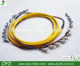 Cable de la corrección de la fibra de la Pre-Terminal de la coleta FC/PC 12core
