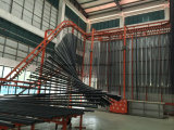 산업 사용 알루미늄 밀어남 단면도 생산 선 알루미늄