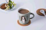 Tazza divertente di ceramica della tazza di tè del caffè di corsa di nuovo disegno con il coperchio