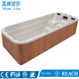 TERMAS retangulares de Massageacrylic do Whirlpool de 5.5m (M-3350)