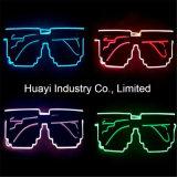 8 Bit-Pixel EL-Drähte leuchten Gläsern