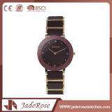 大きいダイヤルのステンレス鋼の手首の標準的な水晶腕時計
