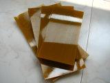 80-90shore uma folha do poliuretano, folha do plutônio com cor de Brown