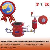 Válvula de verificação molhada do alarme de incêndio