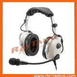 Amplified Dynamic Micの航空電子工学Pilot Anr Noise Cancelling Headset