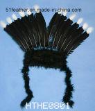 ハンドメイドのインドのだちょうかトルコの羽の頭飾り