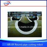 CNC van de Pijpleiding van /Oil van de Pijp van het Buisstaal van het aluminium Machine van Beveling van het Gat van de Vlam van het Plasma de Scherpe