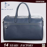 Bolsas do curso dos homens do projeto da forma da fábrica do saco de Duffle do couro genuíno