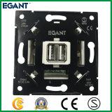 100-240V de witte Universele Contactdoos van de Muur USB voor de Markt van de EU