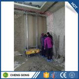 Parede interior de China do equipamento do edifício auto que emplastra a máquina