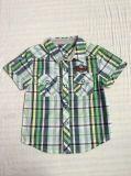Славная рубашка для мальчика в младенце одевает Sq-6247