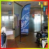 vliegende Vlag van de Druk van de Glasvezel van de Tentoonstelling van 3.9m de Digitale/de Vlag van de Veer