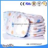 Bonnes couches-culottes remplaçables absorbantes cotonneuses de bébé avec le bon prix