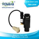 lente motorizada 8.0X com coaxial (PMS-Z80M-C)