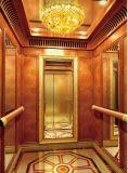 лифт пассажира отделки зеркала 800kg с дверью нержавеющей стали (XNK-003)