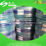 Boyau de jardin tressé de PVC de fibre colorée
