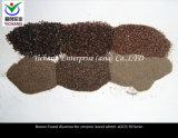 Grani del corindone del Brown per le materie prime refrattarie