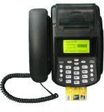 GPRSの手持ち型の公衆電話POS