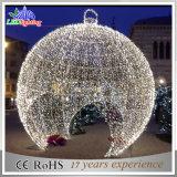 الصين صاحب مصنع [لد] عيد ميلاد المسيح خارجيّة عملاقة كرة زخرفة ضوء