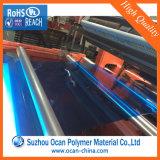 Strato rigido colorato trasparente del PVC della plastica per il comitato