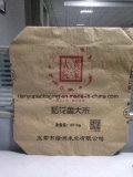 Bolsa de papel lateral de Kraft del escudete para los cereales