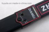 Metal detector tenuto in mano di alta sensibilità per il luogo pubblico