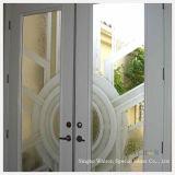10mm moderado/endurecido/arte decorativa/vidro vidro da porta/janela