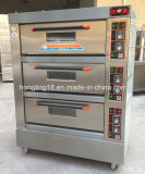 Oven van het Baksel van het Brood van het Dek van Hongling de Drievoudige Commerciële Elektrische met Goedgekeurd Ce