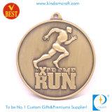 Heiße Verkäufe angepasstes China Druckguss-Metallmarathon-Medaille in der Qualität