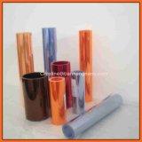 Strato trasparente libero di plastica flessibile del PVC di colori differenti di buona qualità