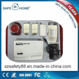 Ordenador principal blanco sin hilos del sistema de alarma de la seguridad con alta tecnología