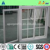 Хорошее окно серии UPVC цены 80 пластичное сползая с декоративной штангой
