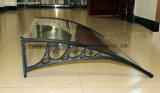 Het openlucht Bouwmateriaal van de Montage ABS/Aluminum van de Luifel Voor het Afbaarden (yy-j)